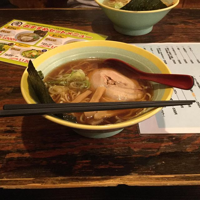 Today's midnight noodle (Yashoku)